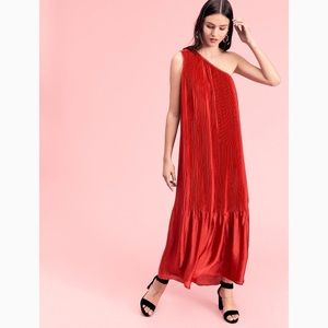 Free People Chelsea Pleated Gown